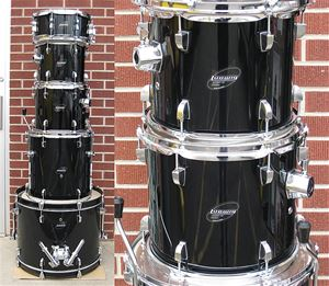 Ludwig Accent CS Combo kit - Black