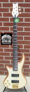 Schecter DIAMOND SERIES Stiletto Custom-5   Natural      Left Handed  5-String Electric Bass Guitar