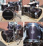 DW Performance Series 5 piece kit - Ebony Stain