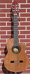 Dean CSCR Espana Solid Top Rosewood Cutaway Classical Acoustic Electric  Guitar