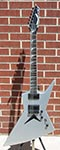 USED Dean Dave Mustaine Signature Zero  Metallic Silver   6-String Electric Guitar