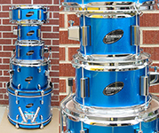 Ludwig 5 piece Junior kit - Blue - Model LJR-106
