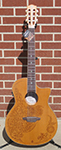 Luna Henna Oasis Nylon 6-String Acoustic Electric Guitar