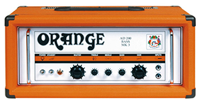 Orange AD-200B  MK III  All Tube 200-Watt Bass Head