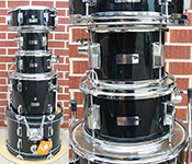 Percussion Plus 5 piece SD5 Black Junior Kit