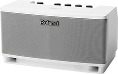 ROLAND CUBE LITE WHITE Counter Top Monitor Amplifier 10w 2.1 System (white)
