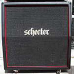 "SCHECTER HR412-SUBSLE  Hellraiser Depth Charge Stage 4x12""  Sub Slant Cabinet"