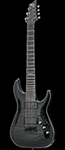 Schecter DIAMOND SERIES Hellraiser Hybrid C-7 Trans Black Burst   7-String Electric Guitar