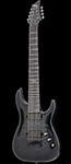 Schecter DIAMOND SERIES Hellraiser Hybrid C-8 Trans Black Burst   8-String Electric Guitar
