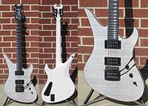 Schecter USA CUSTOM SHOP MASTERWORKS Avenger Custom Kahler Trans White   NAMM SHOW 6-String Electric Guitar