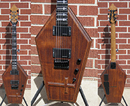 Schecter USA CUSTOM SHOP MASTERWORKS Coffin w/Carved Cross Aged Vintage Tint 6-String Electric Guitar