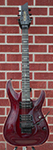 Schecter USA CUSTOM SHOP Production Series Sunset Classic-II FR Black Cherry  2013 6-String Electric Guitar