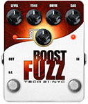 TECH 21 BOOST FUZZ  GUITAR PEDAL