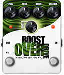 TECH 21 BOOST OVERDRIVE GUITAR PEDAL