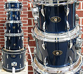 Tama Imperialstar Midnight Blue   kit
