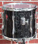 "USED Premier 12"" x 13"" Black Diamond Pearl Tom"