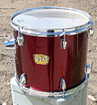 "Yamaha YD Series 11"" x 13"" tom - Garnet Red - Model YD-313"