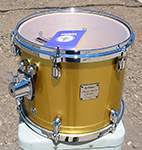 "Yamaha Maple Custom Absolute Nouveau 10"" x 12"" tom - Oriental Gold lacquer - Model ATT-1512"