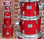 Yamaha Stage Custom Birch 5 pc. kit -  Cranberry Red lacquer - Model SCB0F57