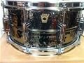 "Ludwig USA LB-417K  Hammered Black Beauty 6.5""x14"" Snare Drum"