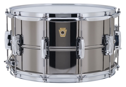 "Ludwig USA LB408  8x14"" Black Beauty Snare Drum"